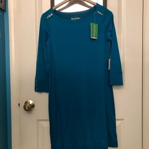Lilly Pulitzer Dresses - NWT UPF 50+ Sophie Dress in Tidal Wave Size Small